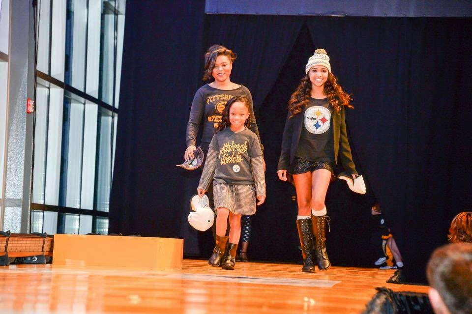Pittsburgh Steelers fashion show