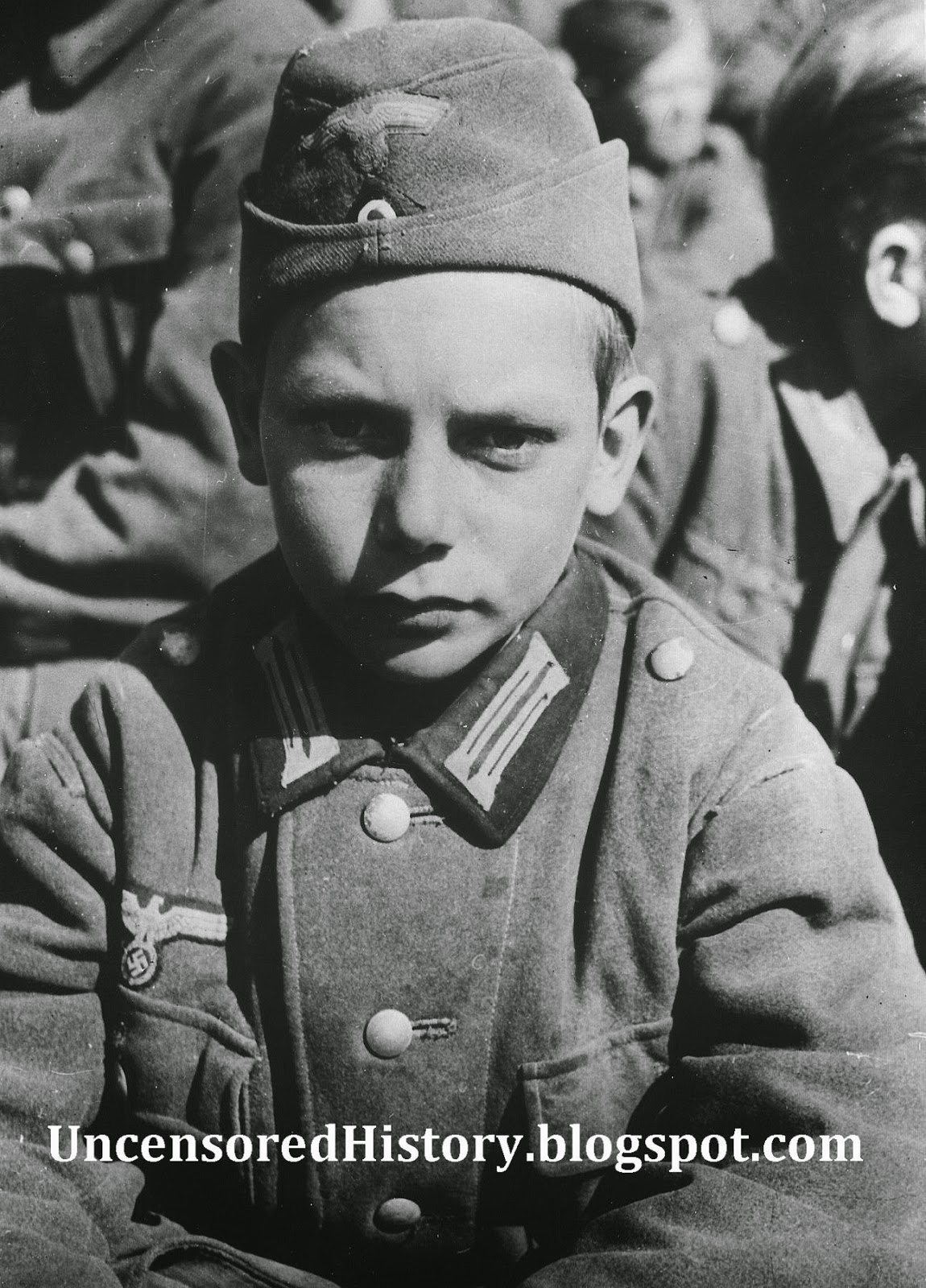 Hitler Youth boy april 1945