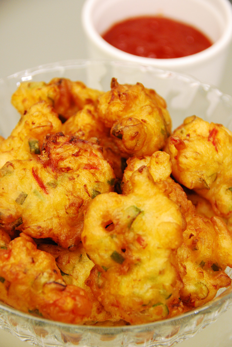 A Little of Everything: Cucur Udang (Prawn Fritters)