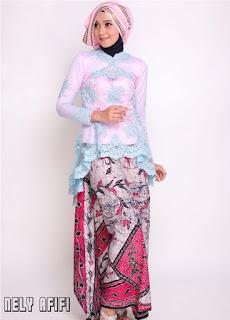 Desain Kebaya Batik Modern Terkini