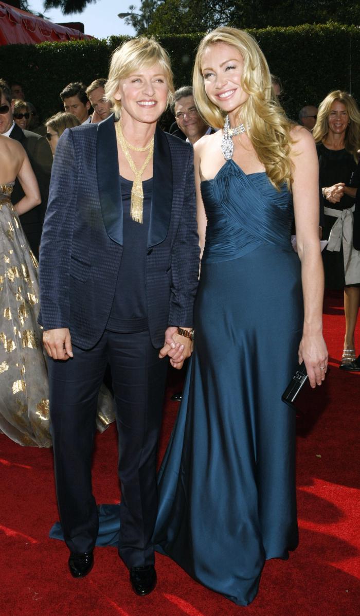 Ellen DeGeneres Portia De Rossi Red Carpet