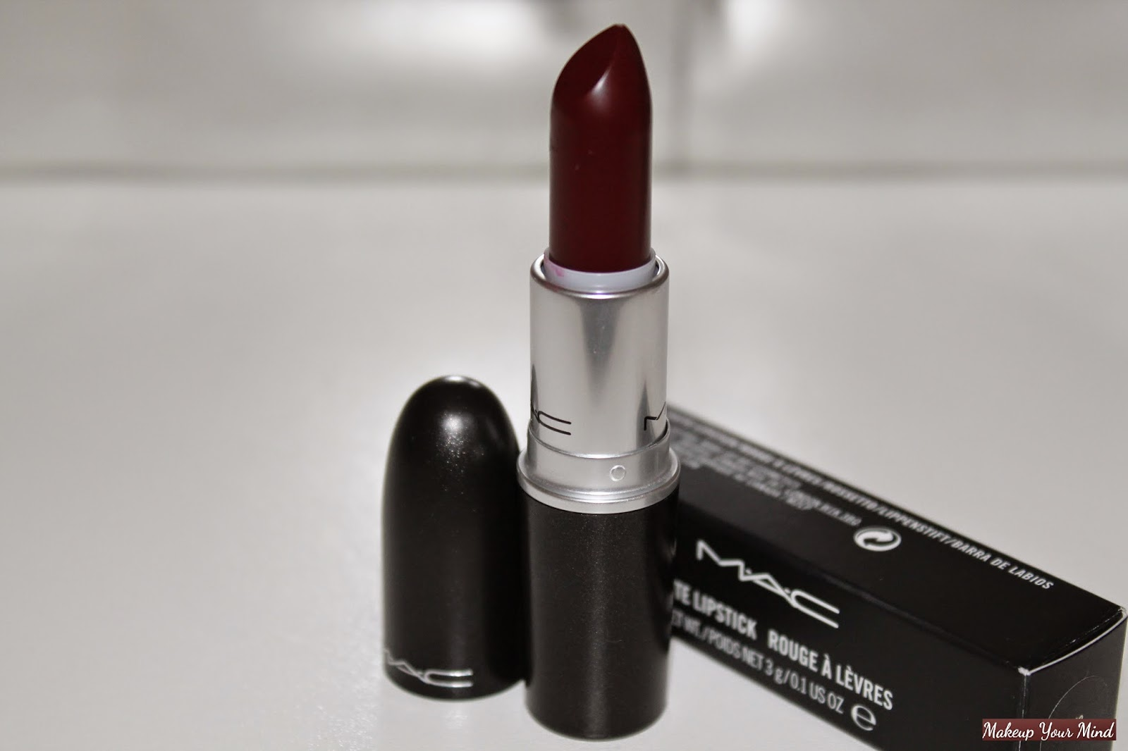 "Makeup Your Mind: Vampy Lips - MAC ""Sin"" Lipstick and some ..."