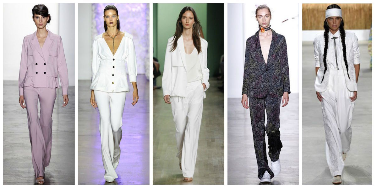 new york fashion week trend report ss16 suit tailoring