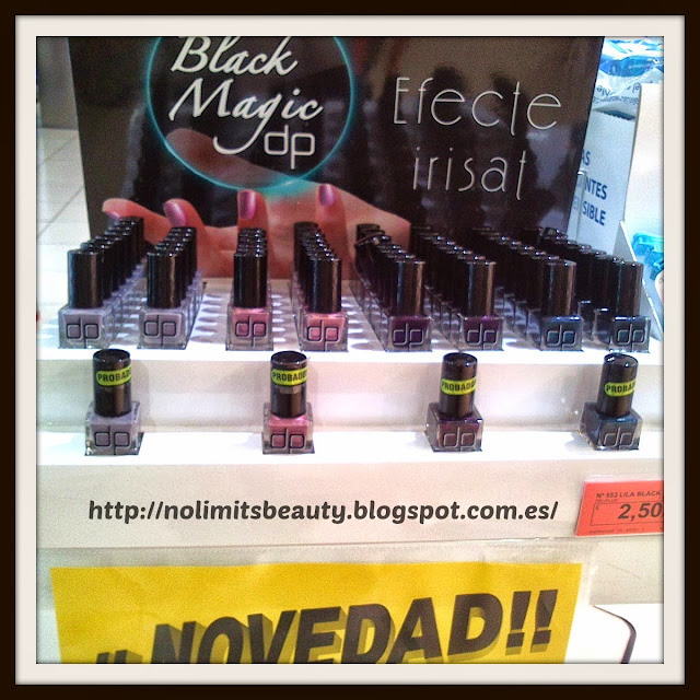 Esmaltes de uñas Black Magic de Deliplús