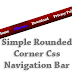 Simple Rounded Corner Css Navigation Bar to Blogger