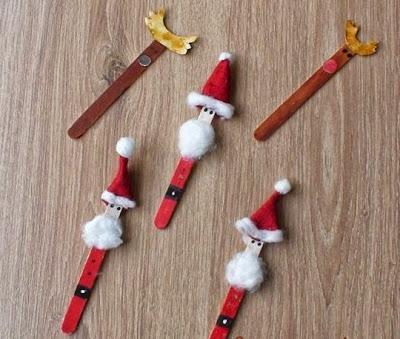 Fotos de Decoração Artesanal de Natal