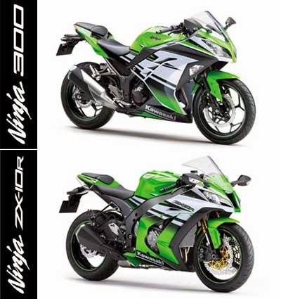 Kawasaki Ninja 300 & Ninja ZX-10R
