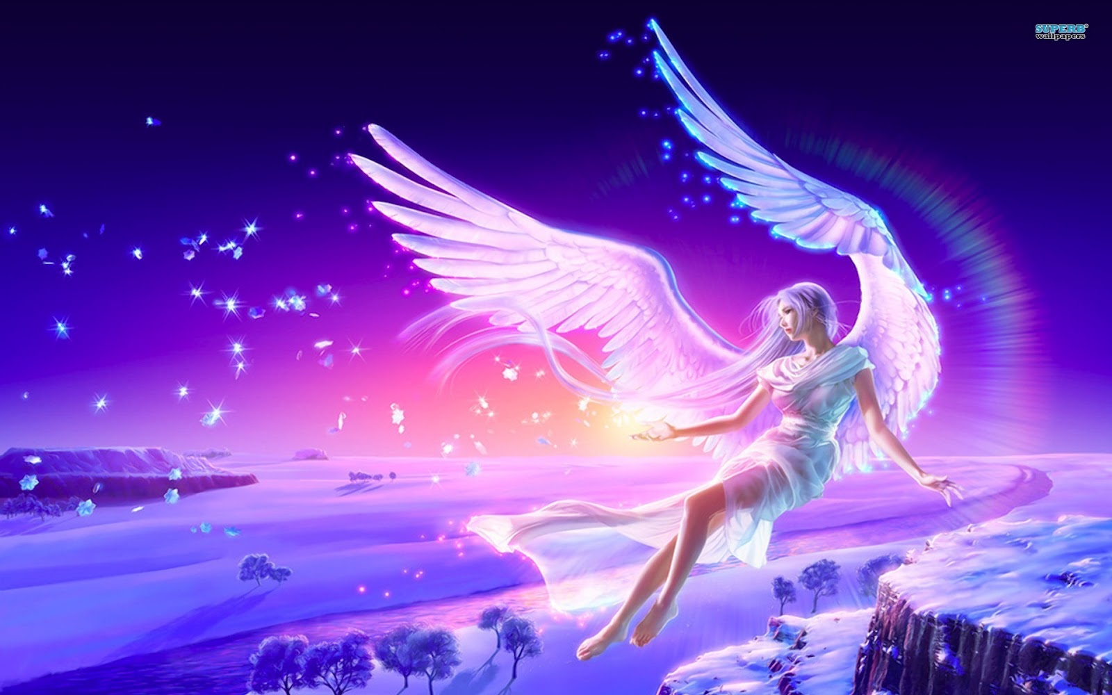 turokmu blogs: fantasy wallpapers girls dark 3d background angel