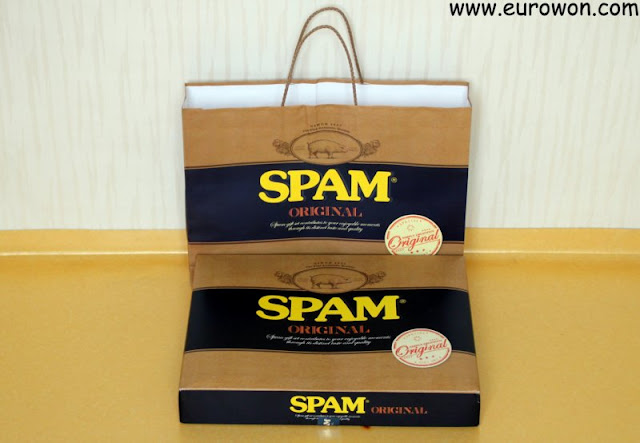 Set de regalo de Spam