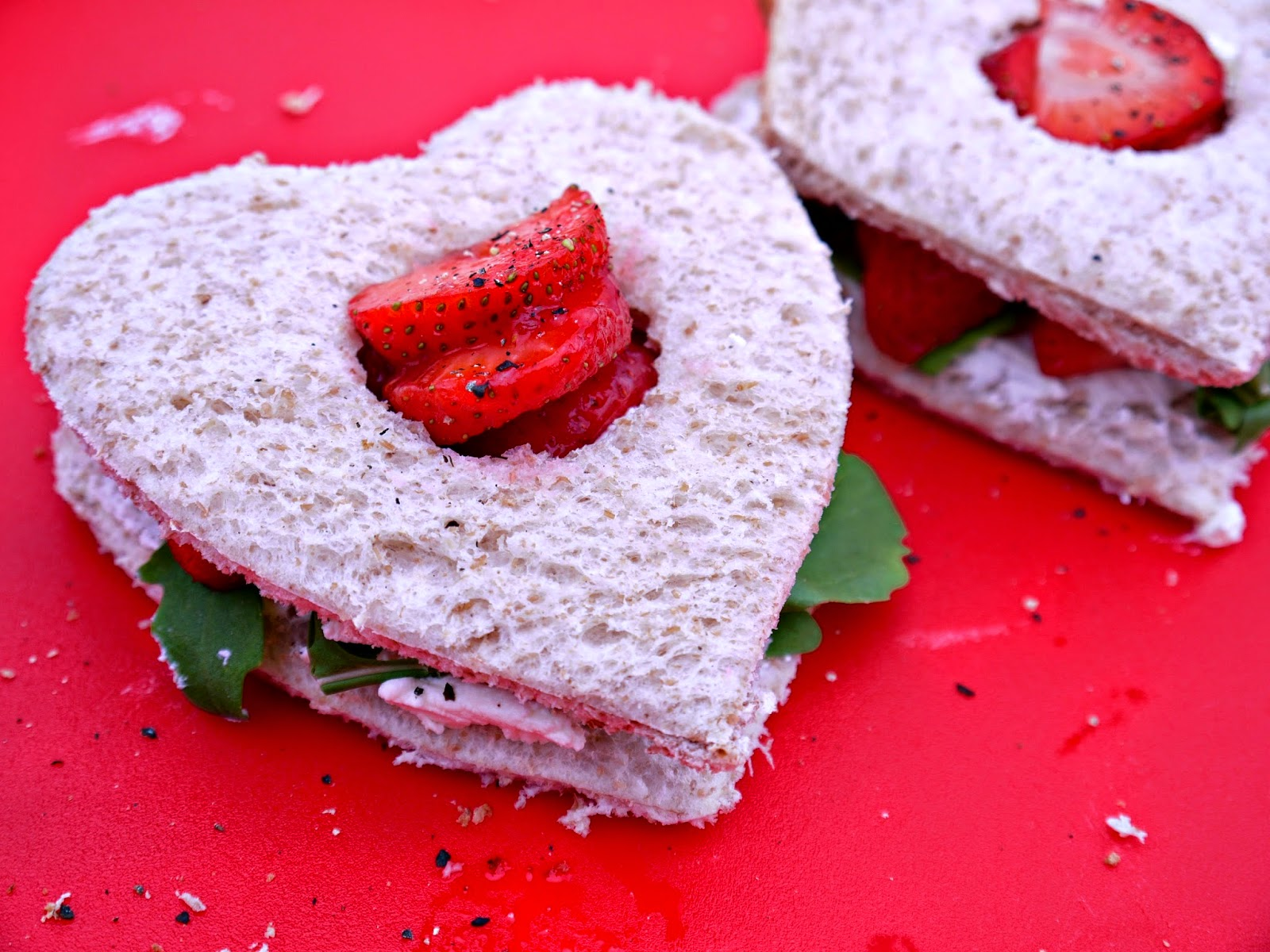 Valentines, Roberts bakery, sandwich fillings