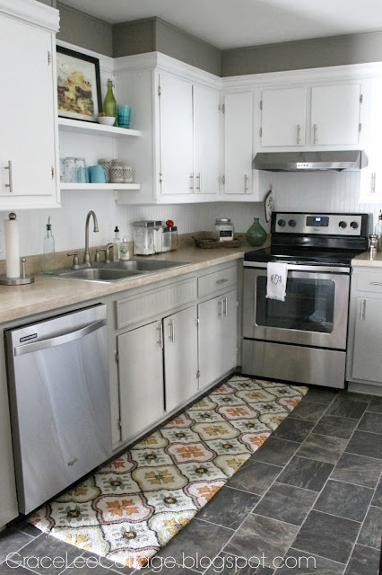 grace lee cottage updating old kitchen cabinets