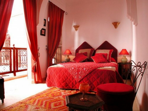 Dormitorios estilo marroqu dormitorios con estilo - Interesting images of red and blue bedroom decorating design ideas ...
