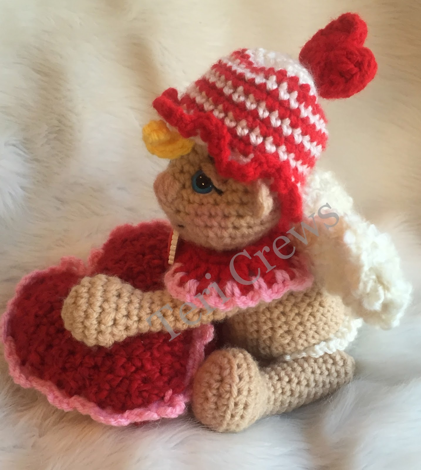 Teris Blog: New Cute Cupid Crochet Pattern