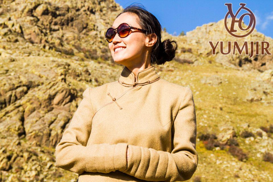 Mongolian Style: Mongolian style coat