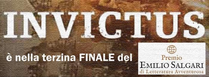 INVICTUS è nella terzina finale del PREMIO SALGARI DI LETTERATURA AVVENTUROSA 2014