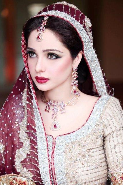 Bridal Makeup Model Images : * Juggan Kazim in BridaL Wear - Amazing MakeOver * ~ Dulha ...