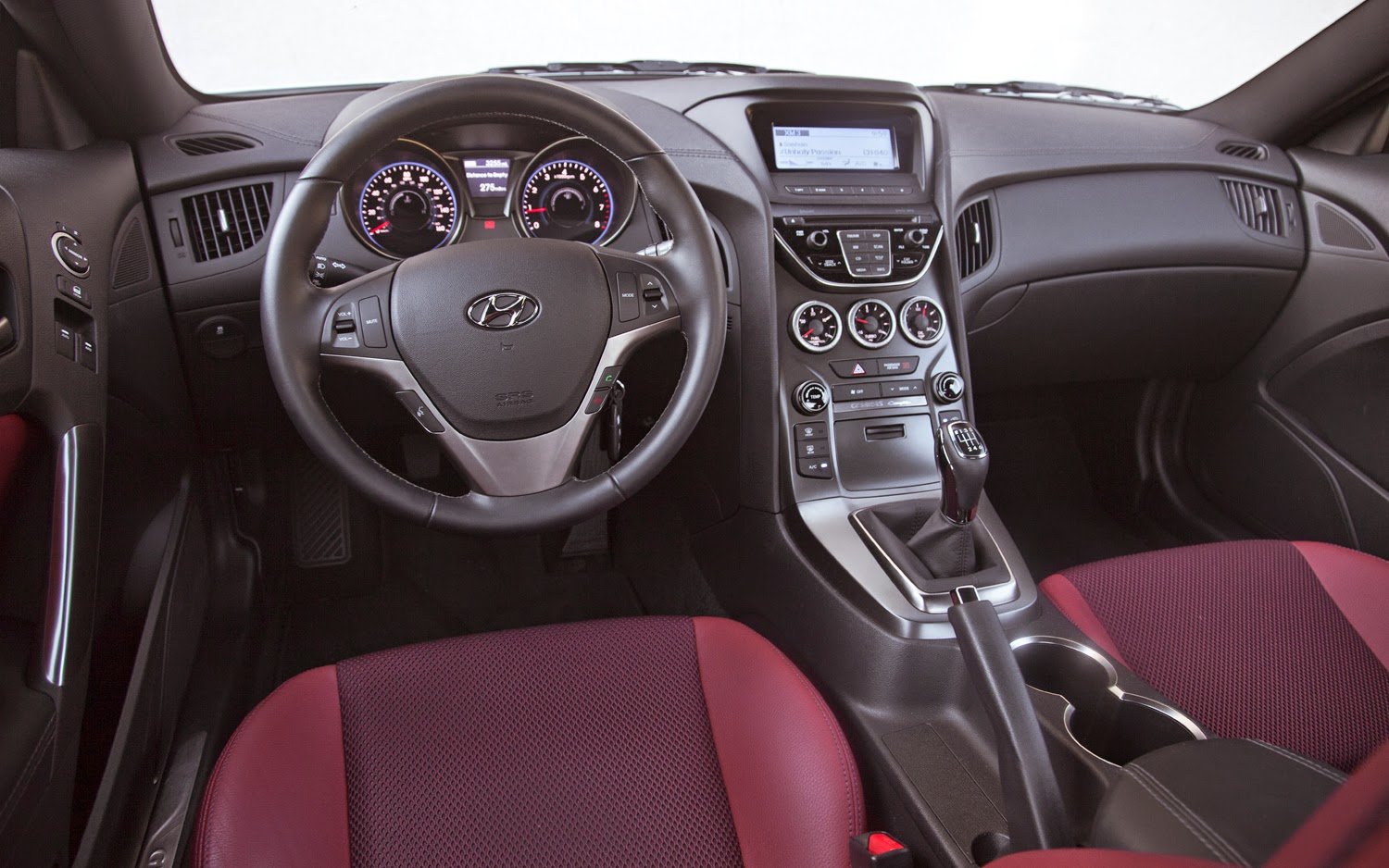 2013/2014 Hyundai Genesis Coupe Interior Design Suggestions