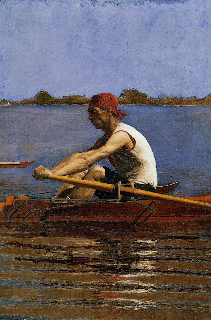 John_Biglin_in_a_Single_Scull_Thomas_Eak
