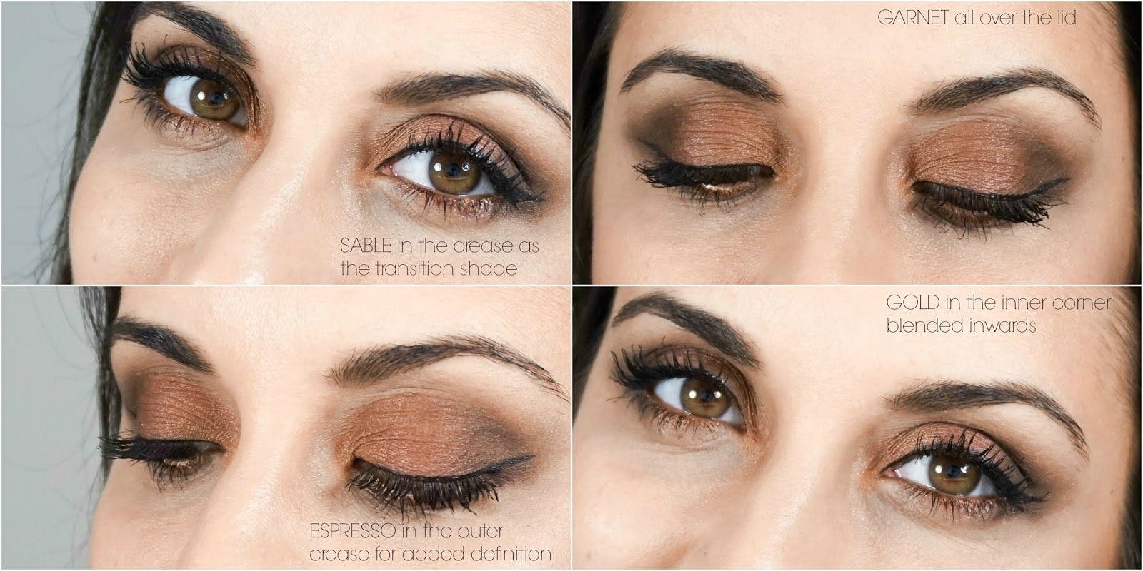 Beauty with charm copper smokey eye with the lorac pro palette list of products used baditri Gallery