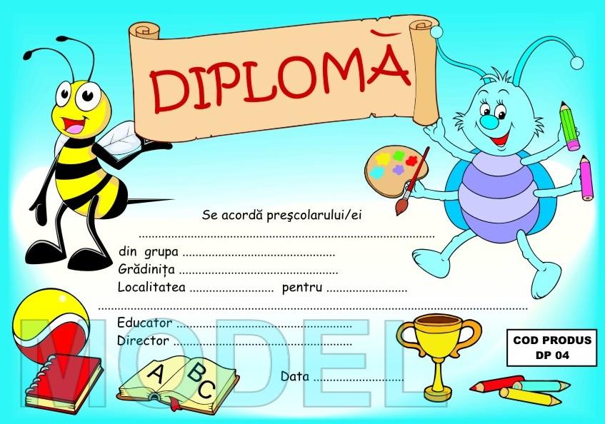 Pentru mai multe modele de diploma click aici