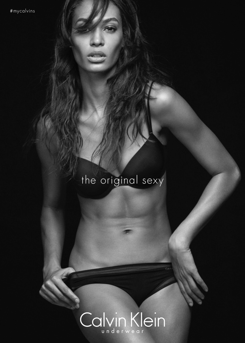 Joan Smalls for Calvin Klein Underwear