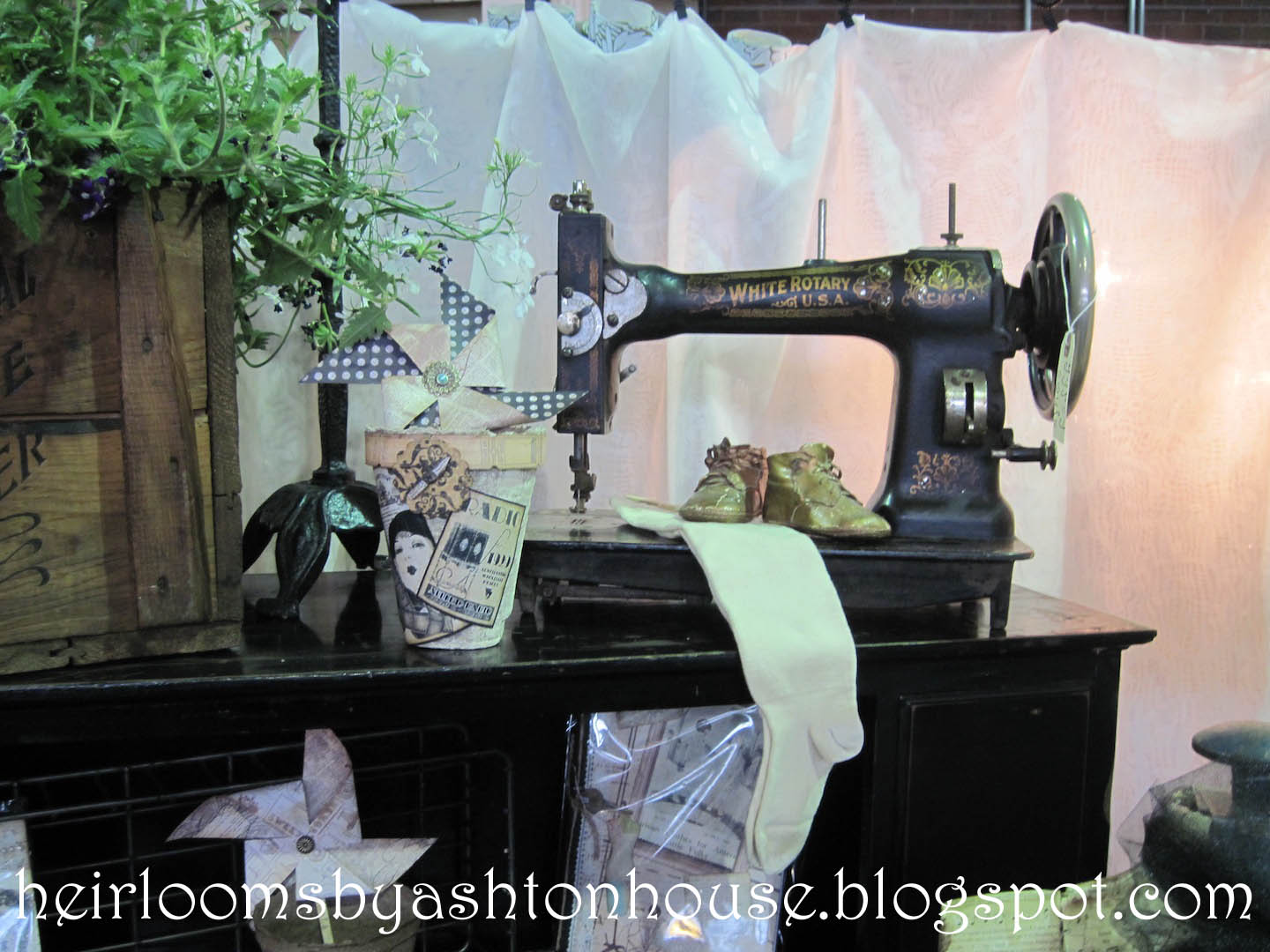 white westinghouse sewing machine