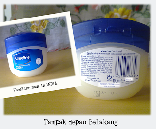 Vaseline Petroleum Jelly Made in India