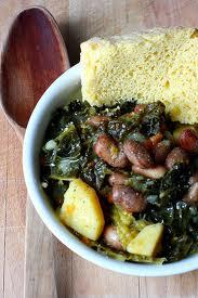 piatto unico contadino: verze, patate e fagioli