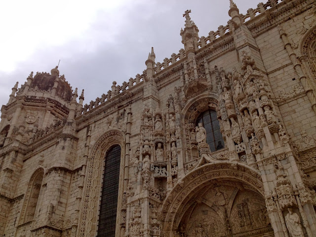 Jeronimos Monastery in Belem on Semi-Charmed Kind of Life