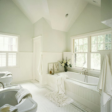 New home interior design cottage bathroom ideas for Cottage bathroom ideas renovate