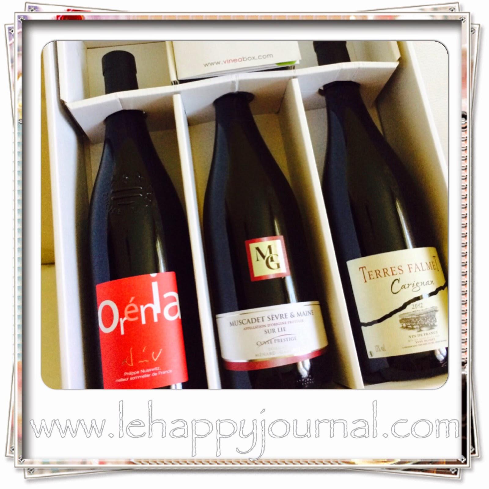 vineabox, abonnement, mensuel, vins, selection, partenaire, happy journal