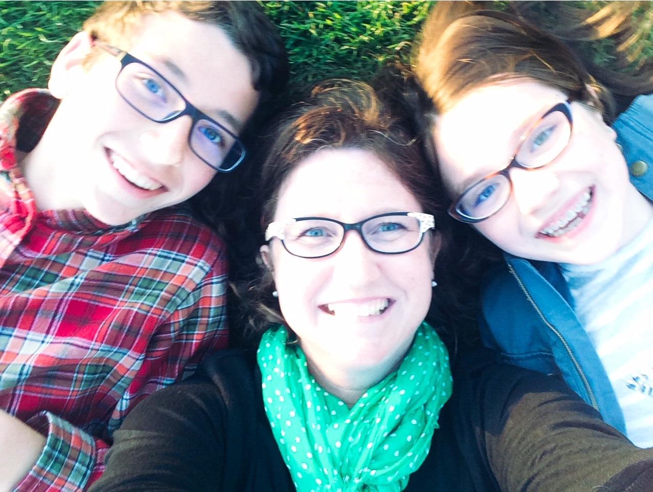 Cooper, Katie & Tyra