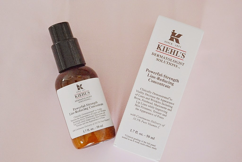 Kiehl's cosmetics, Kiehl's line-reducing concentrate, Kosmetik Kiehl's