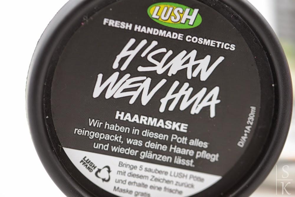 """""""H´Suan Wen Hua"""" - Haarmaske von Lush"""