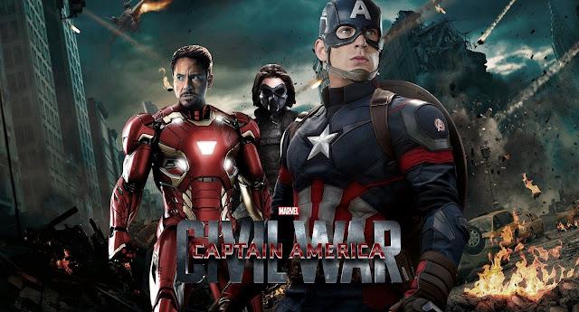 Confira as artes promocionais inéditas de Capitão América: A Guerra Civil