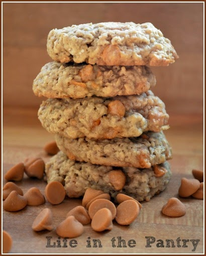 Life In the Pantry: Oatmeal Butterscotch Cookies