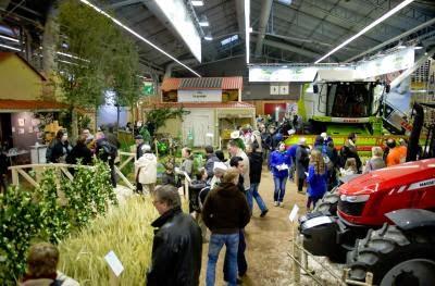 Stand de l'odysée végétale du Salon de l'Agriculture