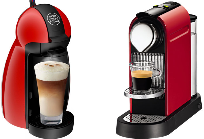 Nespresso dolce gusto inspirierendes design f r wohnm bel - Dolce gusto ou tassimo ...