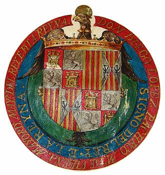 Escudo de los Reyes Católicos antes de Granada