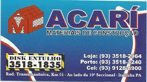 ACAR MATERIAIS DE CONSTRUO