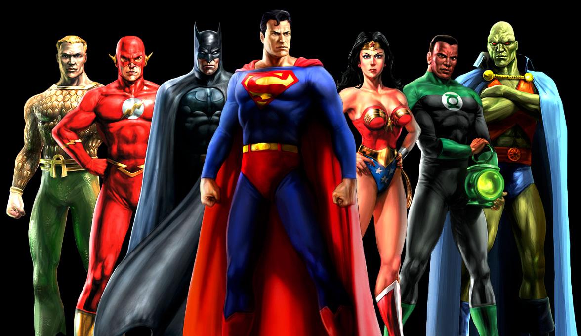 Liga da Justiça já têm os Super-heróis definidos