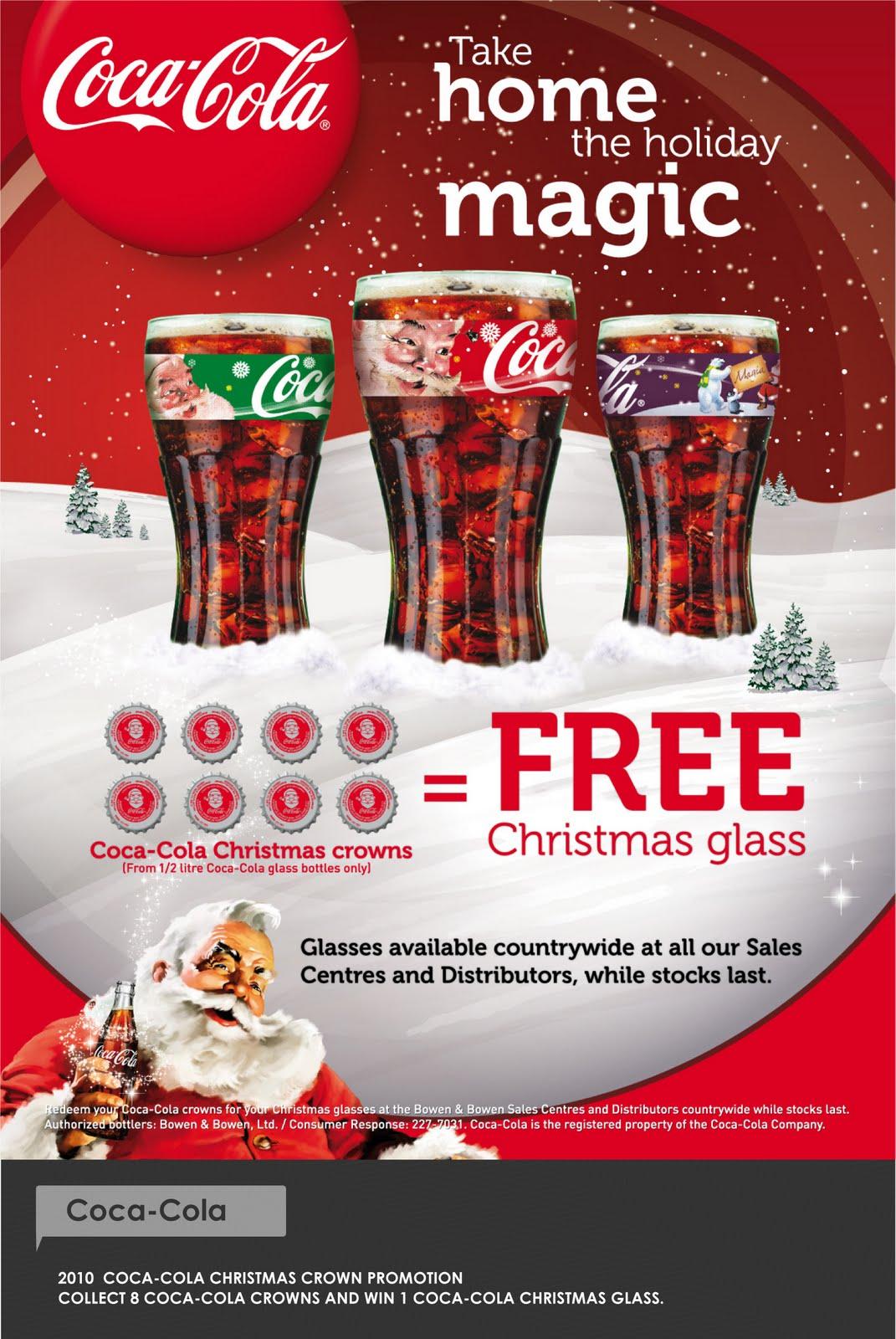 Kelvin Fadul Print Coca Cola Christmas 2010