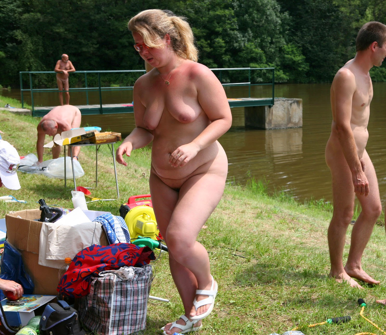 young nudists  Family nudism and naturism blog  Purenudism