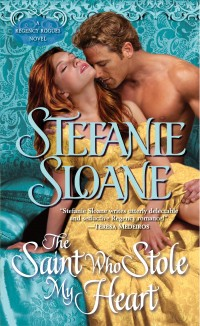 Book cover of The Saint Who Stole My Heart by Stefanie Sloane