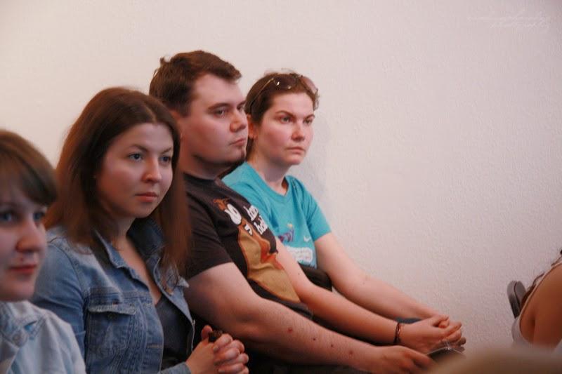 urodzinowe spotkanie Geek Girls Carrots Łódź, kobiety, mezczyzna, publicznosc
