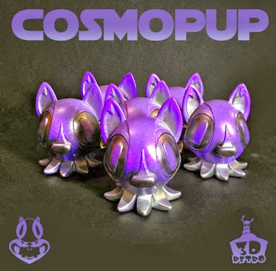 Cosmopup Edition Octopup Vinyl Figure by Nathan Hamill