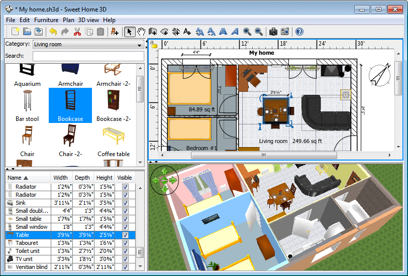 3D Home Designing Software