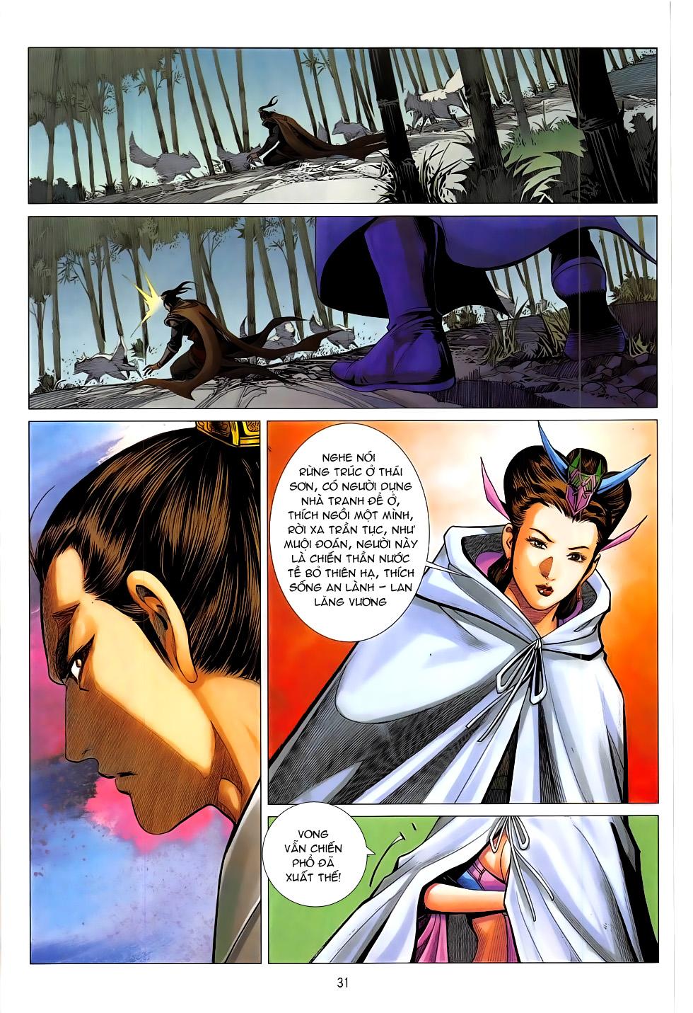 Chiến Phổ chap 20 - Trang 31