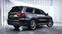 The New 2014 Dodge Durango back side
