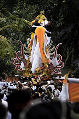 Balinese funeral Ceremony